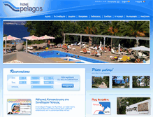 Tablet Preview of hotelpelagos.gr